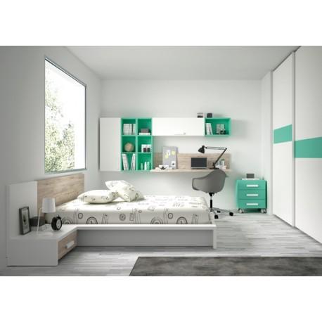 Dormitorio juvenil ref: r03
