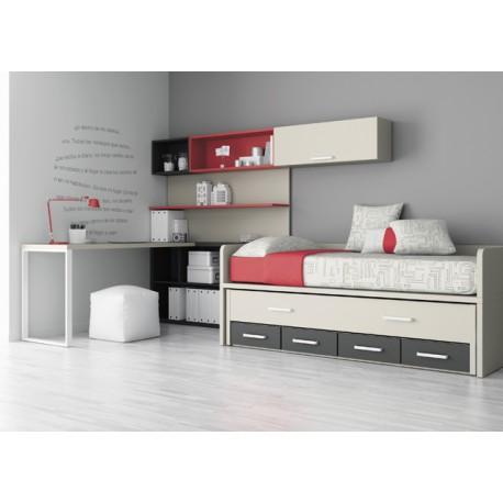 Dormitorio juvenil ref: r06