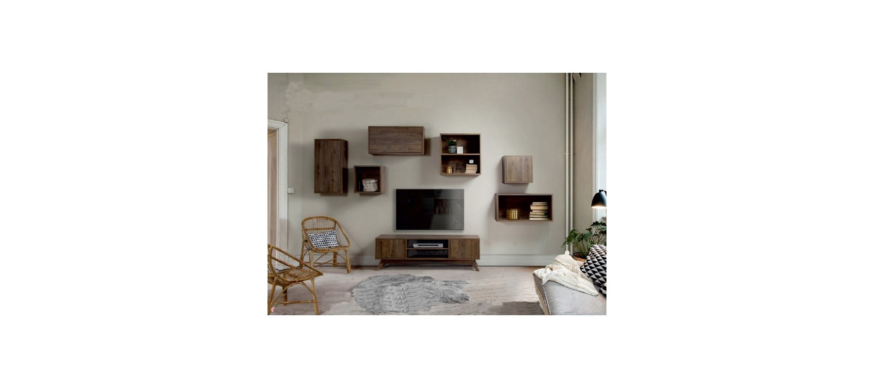 Mueble modular ref mom02 lumelar interiorismo y for Mueble modular