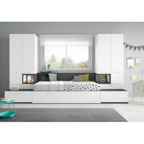 Dormitorio juvenil ref: AJ2