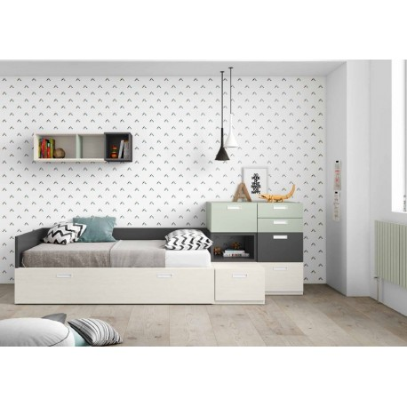 Dormitorio juvenil ref: AJ3