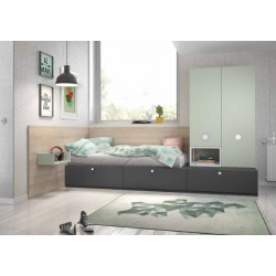 Dormitorio juvenil ref: AJ4