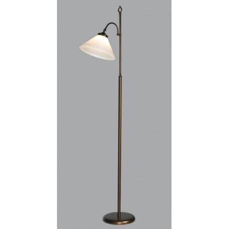 lampara de pie tulipa de cristal lumelar interiorismo