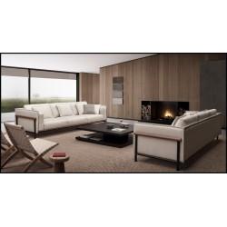 Sofa - rinconero con madera vista ref: sjw