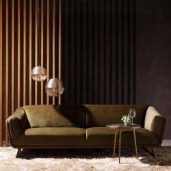 Sofa de diseño 3 plazas ref: si20c1