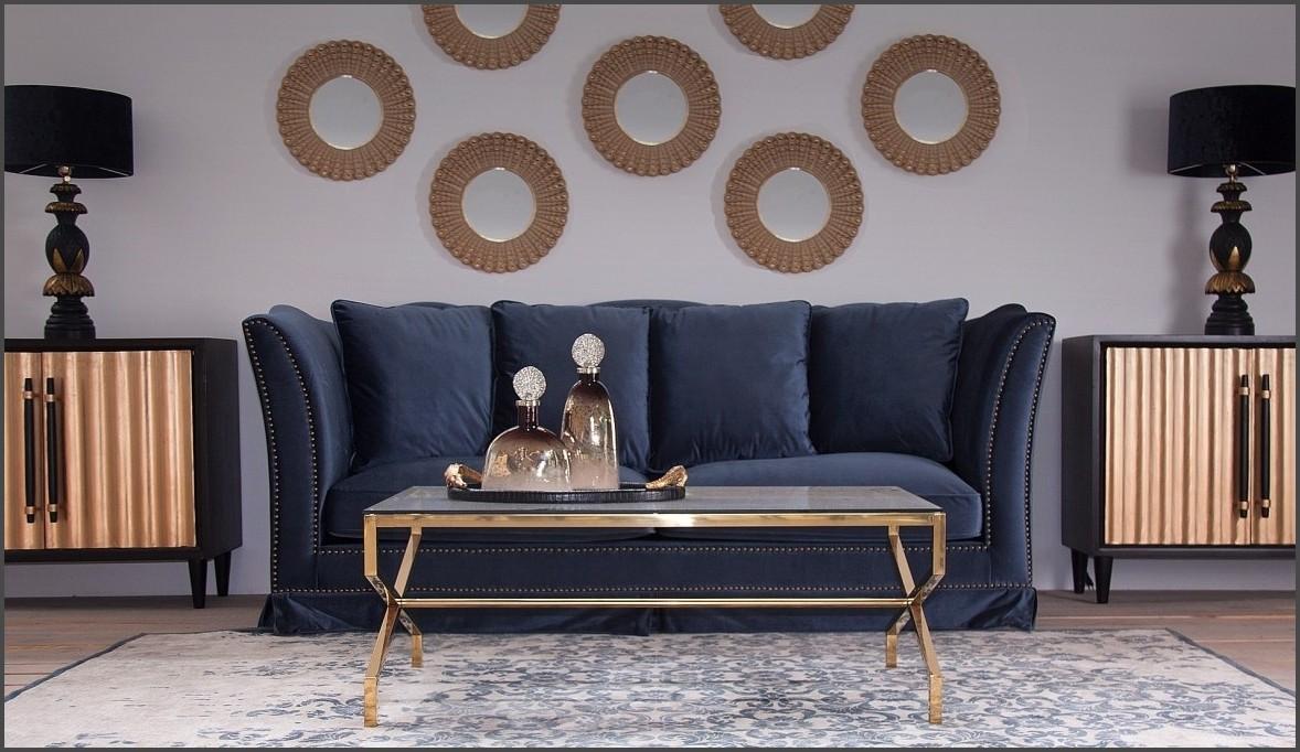 Ambiente sofa azul